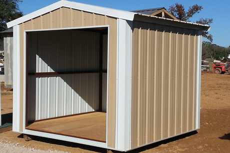 8x10 Metal Shed >> One 8x10' Portable Building From Tri Steel Metals | Lafayette, LA Auctions | Seize the Deal